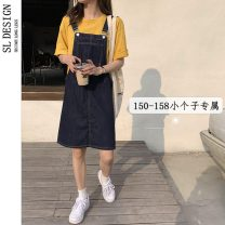 skirt Summer 2021 XS S M L Short skirt commute High waist Strapless skirt Type A 18-24 years old More than 95% Shuli other Korean version Other 100% Pure e-commerce (online only)