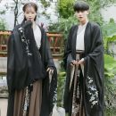 National costume / stage costume Winter 2020 With the whole set, only black big sleeve coat, embroidered hair band, cross collar coat, Confucian skirt + belt XXL, m, XXXL, XL, s, l, customized for fat people, 4XL, 5XL A9341 Other / other