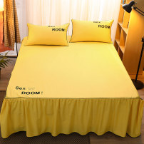 Bed skirt cotton Other / other Solid color Qualified products 20200527-1