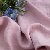 Fabric / fabric / handmade DIY fabric flax Price of lotus root flour 0.5m Loose shear rice Solid color printing and dyeing clothing Countryside Other / other 100%