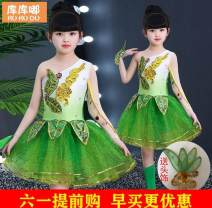 Children's performance clothes There are safety pants, headdress and handkerchief in the skirt, female 100cm,110cm,150cm,160cm Other / other Class B KKD-xcf Other 100% Four, five, six, seven, eight, nine, ten, eleven, twelve, thirteen, fourteen