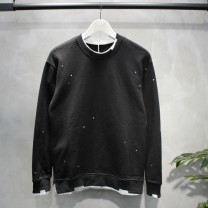 Sweater other Others Black, green, gray, orange 2XL, XL, m, s, l, recover 158 yuan before 100 pieces sold out, high quality 100% high quality cotton Solid color Socket