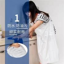 apron 100 white aprons, 100 blue aprons and 100 sleeves Sleeveless apron waterproof public no