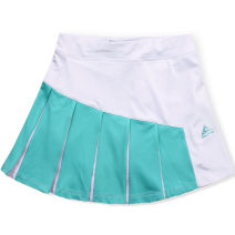 Sports skirt F707 Black, Navy, white, white with fruit green, white with fluorescent green, black with rose red, sky blue with white, dark blue with fluorescent green, rose red with fluorescent green Haoyun banner female L (adult), XXL (adult), m (adult), XL (adult) Summer 2020 Tennis Women's tennis