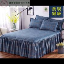 Bed skirt Cotton single bed skirt 1.5mx2m, cotton single bed skirt 1.8mx2.0m, cotton single bed skirt 1.2mx2.0m, cotton single bed skirt 2.0mx2.2m, cotton single bed skirt 1.8mx2.2m cotton Other / other Plants and flowers Qualified products Bed skirt