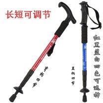 Climbing Stick / walking stick China Jungleleopard / jungle Leopard Section 4 Plastic aluminium alloy iron yes 52-110CM T-handle Hiking, mountaineering Spring 2014 L88874