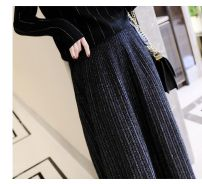 skirt Winter of 2019 M, L Mid length dress commute Natural waist Pleated skirt other Type A 30-34 years old other Ol style