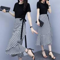 Dress Summer 2021 Picture color, random gift L,XL,2XL,3XL,4XL