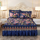 Bed skirt Others Butterfly love flower, red rose, huaxigu, blue butterfly, ye ye Huaxiang, Ye Yu, elegant style, Aibao, aishali, love of flowers, OLLIS pink, OLLIS blue, OLLIS spell, voice of summer Other / other Plants and flowers Qualified products 9C3EE4AA