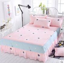 Bed skirt 180cmx200cm,150cmx200cm,120cmx200cm,200cmx220cm,180cmx220cm polyester fiber Other / other Plants and flowers Qualified products s88888d