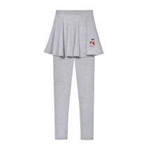 Leggings Autumn 2020 Light grey, black (without velvet), dark grey (without velvet) S,M,L,XL,2XL,3XL routine trousers Leggings To play with a bear pure cotton 51% (inclusive) - 70% (inclusive)