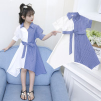 Dress Picture color female Other / other Other 100% summer Korean version Short sleeve other other A-line skirt NK-5724 2, 3, 4, 5, 6, 7, 8, 9, 10, 11, 12, 13, 14 years old