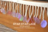 lace Picture color, 1 yard = 91cm long picture color, half yard = 45cm long, buy more continuous length