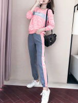 Casual suit Autumn 2020 25-35 years old Serenity of Xiao Li 91% (inclusive) - 95% (inclusive) polyester fiber