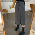 skirt Spring 2021 S M L grey longuette commute High waist A-line skirt Solid color Type A 18-24 years old 5123# 51% (inclusive) - 70% (inclusive) Denim Beidieniao cotton pocket Cotton 51% others 49%