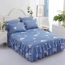 Bed skirt 180cmx220cm for pillow case, 120cmx200cm for pillow case, 150cmx200cm for pillow case, 180cmx200cm for pillow case, 200cmx220cm for pillow case Others Other / other Plants and flowers Qualified products FKJ5Tg14