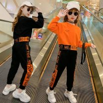 suit Other / other Notme girls' suit orange, notme girls' suit black The recommended height is 98-107 cm for 110, 108-117 cm for 120, 118-127 cm for 130, 128-137 cm for 140, 138-147 cm for 150 and 148-155 cm for 160 female spring and autumn Korean version routine Socket letter Class B