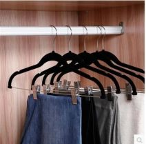 Pants rack Black, off white 10 Organize / store J778626 Beautiful colors no Wardrobe / cloakroom the post-80s generation : 42*23*2.5CM Solid color Asia