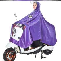 Poncho / raincoat oxford  XXXL,XXXXL adult 1 person thick Other brands Motorcycle / battery car poncho T75623 T51901