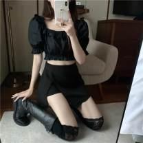 Latin bottom female S,M,L Black top, white shirt other