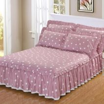 Bed skirt cotton Other / other Plants and flowers Qualified products JLY-DCCQ008-1