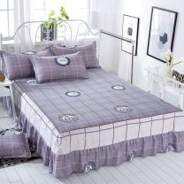 Bed skirt Bed skirt 1.2x2.0m, bed skirt 1.5x2.0m, bed skirt 1.8x2.0m, bed skirt 1.8x2.2m, bed skirt 2.0x2.2m, bed skirt 1.0x2.0m polyester fiber Other / other Plants and flowers Qualified products