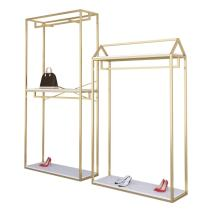 Clothing display rack Frame a is 60 * W 40 * h 190, frame h is 60 * W 40 * h 240, frame a is 120 * W 40 * h 190, frame a is 150 * W 40 * h 190, frame h is 120 * W 40 * h 190, frame h is 150 * W 40 * h 190, double-layer frame is 120 * W 40 * h 240, double-layer frame is 150 * W 40 * h 240 iron