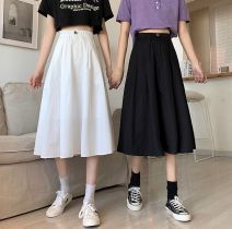 Cosplay women's wear skirt Pre sale Over 6 years old White, black comic XL Other / other Europe and America lovelive other Other / other