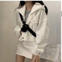 Down jacket Tagkita / she and others female S,M,L 51-100 yuan eighty-two point eight zero White Velvet Autumn 2020 Medium length 100g (including) - 150g (excluding) 90% easy