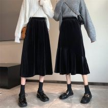 Parent child fashion Black (fishtail), black (A-line skirt) other female Other / other L,XL,2XL,3XL See description Solid color other 12 months