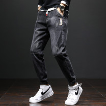 Jeans Youth fashion GXG JORGE 28/M,29/M,30/L,31/L,32/XL,33/XL,34/2XL,36/3XL,38/4XL 0801, 0802, 0803, 0804, 0805, 0806, 0807 routine Micro bomb Regular denim trousers Travel? Cotton 58.8% polyester 23.7% regenerated cellulose 16.3% polyurethane elastic fiber (spandex) 1.2% spring youth middle-waisted