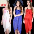Wrap / drape Black, white, watermelon red, red, orange, fluorescent yellow, goose yellow, dark green, turmeric, royal blue, sky blue, deep powder, skin powder, rose red Other / other L56269