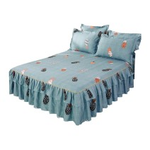 Bed skirt Bed skirt 120x200cm [2 pillow cases for free], bed skirt 150x200cm [2 pillow cases for free], bed skirt 180x200cm [2 pillow cases for free], bed skirt 180x220cm [2 pillow cases for free], bed skirt 200x220cm [2 pillow cases for free], the same single quilt cover 200x230cm cotton 6ThY