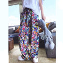 Women's large Spring 2021 Picture color Big XL, big XXL, big XXL, big XXXXL, big XXXXL, l, 6xl trousers singleton  commute Korean version Damoda / yaotaiping bird trousers