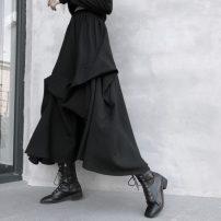 skirt Summer 2020 XL , XXL , XXXL , Average [recommendation 80] - 115 Jin] , XL [recommendation 115] - 135 kg] , 2XL [recommendation 135] - 165 kg] , 3XL [recommendation 165] - 200 Jin] black longuette commute High waist 18-24 years old 31% (inclusive) - 50% (inclusive) other Damoda / yaotaiping bird