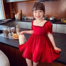 Dress Red, apricot female Other / other 90cm,100cm,110cm,120cm,130cm,140cm Other 100% summer Korean version Short sleeve Solid color other A-line skirt QDD210404-1 other 18 months, 2 years old, 3 years old, 4 years old, 5 years old, 6 years old, 7 years old, 8 years old Chinese Mainland Shenzhen City