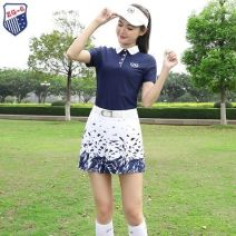 Golf apparel Top + skirt-1k7, skirt decor-60n, Capris white-959, top + capris-i33, top baolan-n0e M,S,XL,XXL,L female ZG-6 trousers