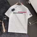 T-shirt Youth fashion Black, white routine S,M,L,XL Short sleeve Crew neck standard Other leisure summer youth routine tide Cotton wool Alphanumeric printing cotton No iron treatment