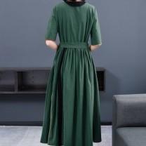 Square Dance Dress M,L,XL,2XL,3XL,4XL Picture color Other / other elbow sleeve longuette