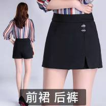 Casual pants Winter 2020 shorts Wide leg pants High waist Other styles 31% (inclusive) - 50% (inclusive) other Diamond inlay polyester fiber