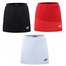 Badminton wear female Badminton wear Lower garment Skirt 7031 White, black, red M,L,XL,XXL,XXXL