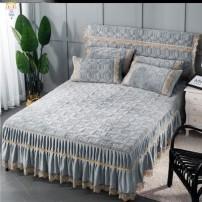 Bed skirt 2.0 * 1.8 bed cover, 2.0 * 2.8 bedside skirt, 2.0 * 1.8 bed cover, 2.0 * 1.8 bed cover, 2.0 * 1.8 bed cover Others Other / other Solid color Qualified products U17103