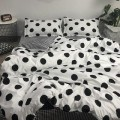 Bedding Set / four piece set / multi piece set Polypropylene fiber other Others 128x70 Other / other Polypropylene fiber 4 pieces other Sheet type Qualified products Nordic style other Reactive Print  190627/8