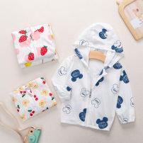 Children's skin clothes / sunscreen clothes 7717a mouse head, 7717d strawberry, 7717e lemon, 7720 bear cherry, 7724 lion 48,52,59,66,73,80 Other / other cotton neutral