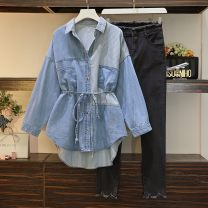 Parent child fashion One coat, one pants, two-piece suit other female Other / other Large L (recommended 100-120 kg), large XL (recommended 120-140 kg), large 2XL (recommended 140-160 kg), large 3XL (recommended 160-180 kg), large 4XL (recommended 180-200 kg) See description 12 months