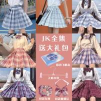 student uniforms Winter 2020 XS,S,M,L,XL,XXL Long sleeves solar system skirt 18-25 years old JK polyester fiber 91% (inclusive) - 95% (inclusive)