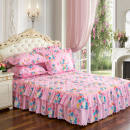 Bed skirt 100cmx200cm polyester fiber Other / other Plants and flowers