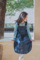 Dress Denim skirt in stock, denim skirt pre-sale female Other / other 100cm,110cm,140cm,150cm,120cm,130cm,160cm Cotton 100% No season solar system Strapless skirt Solid color Cotton denim A-line skirt
