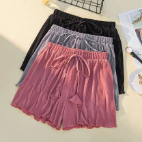Women's large Summer 2021 Black, watermelon red, silver grey 2XL 130-150 Jin, 3XL 150-170 Jin, 4XL 170-200 Jin, XL 100-130 Jin trousers singleton  commute easy moderate Korean version Three dimensional cutting Ocnltiy shorts
