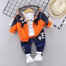 suit Baozifan Size 80 is suitable for height of 65-75cm, age within 1 year, Size 90 is suitable for height of 75-85cm, age over 1 year, size 100 is suitable for height of 85-95cm, age over 2 years, Size 110 is suitable for height of 95-105cm, age over 3 years neutral spring and autumn motion 3 pieces